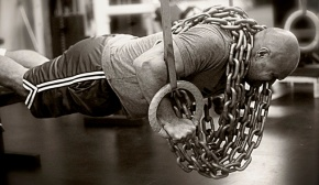 Chain pushup with rings_0